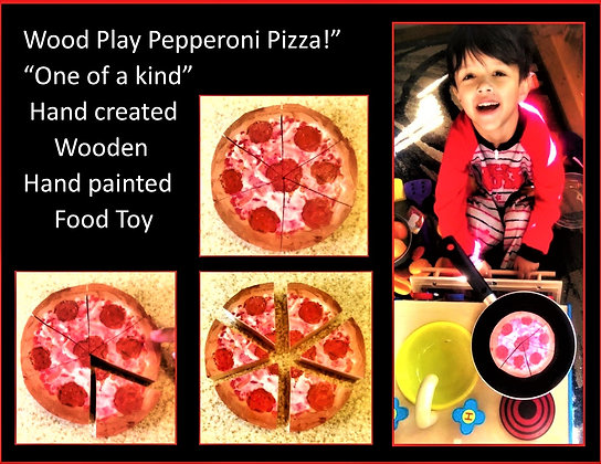 toy food, pizza, child gift, wood puzzle, girl gift, boy gift, kid gift, learn