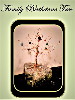 mother gift, Family birthstone tree, family tree, wire trees