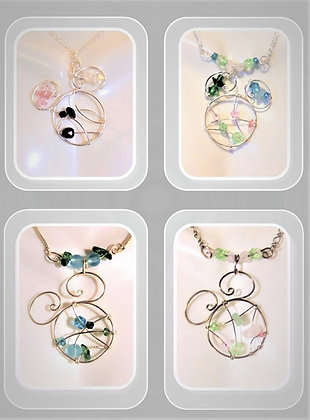 Mickey birthstone necklace, family birthstones, mother, gift, wife, Disney lover