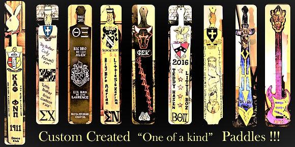 fraternity paddles, Greek, paddles, custom, frat, paddles, big brother