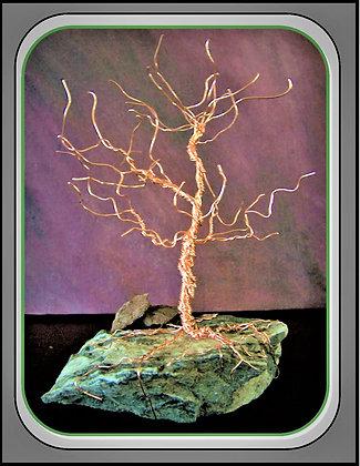 Trees, wire tree, tree sculpture,