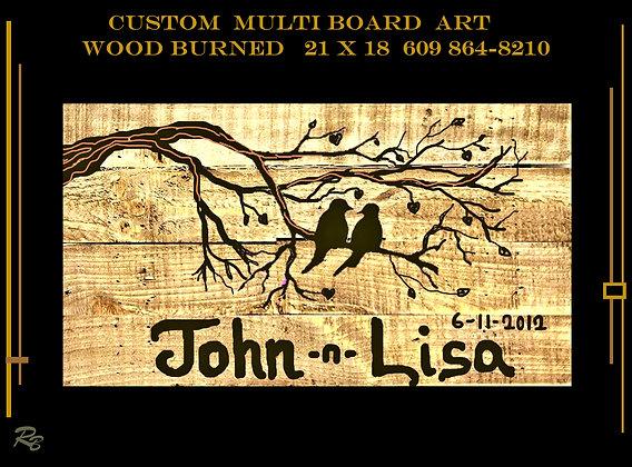five year, anniversary gift, wood anniversary gift, wood signs, Custom