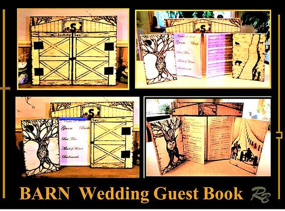 Barn Wedding, guest book, wedding ideas, wedding guest book