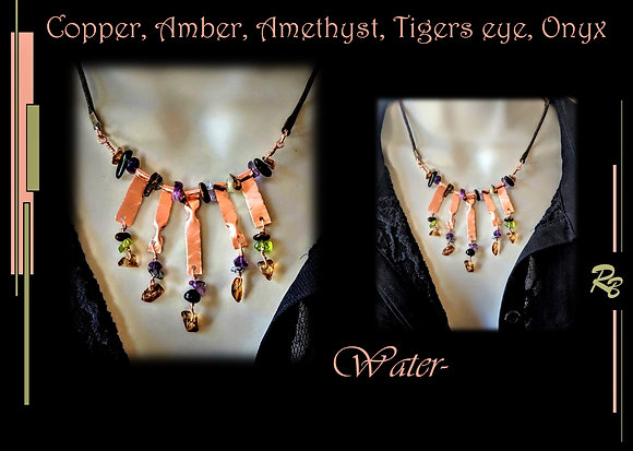 waterfalls, high fashion jewelry, wife gift, mother gift, Daughter, g