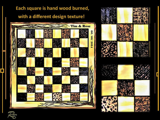 Chess board, personalized, cabin decor,anniversary gift,Husband gift, wood gift,