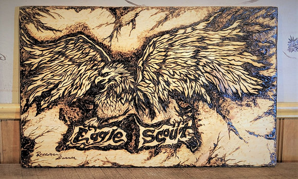 Scout Eagle, gifts, Troop leader retirement,Boy Scout,Troop leader, scout leader