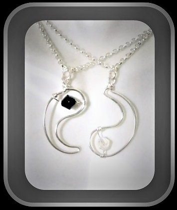 girlfried, gift, necklace,couples gift,couples Jewelry,boyfriend gift,yin yang