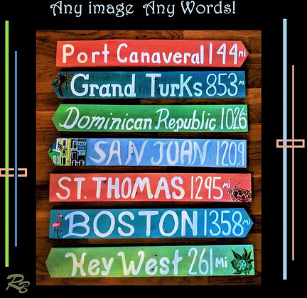 Destination sign, custom sign,wood,,Wood Anniversary gift,wood