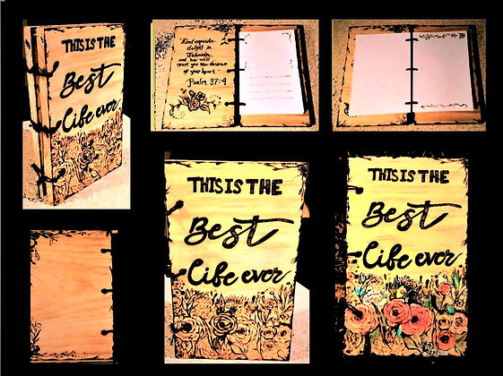 husband gift, boyfriend, gift, wood book, photo album, wood anniversary, gift,