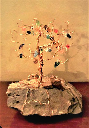 mother gift, grandmother gift, Family birthstone tree, birthstones