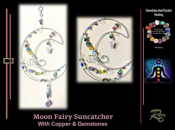 sun catcher, Celestial,Moon, gift,wife,mother,daughter, sister, friend, zen