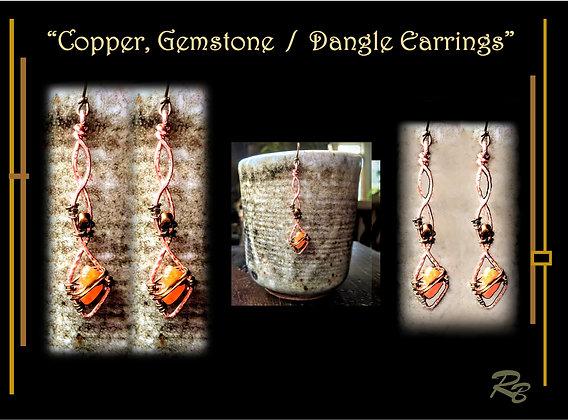 earrings, dangle, zen, wife gift, mother, daughter, gift, earrings