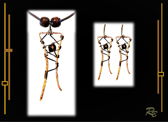 Necklace Earrig SET, wife gift, mother,gift, daughter  gift, earrings