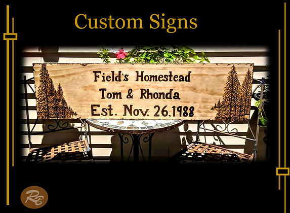 Personalized, wood signs, Custom, wood burned, art, gift