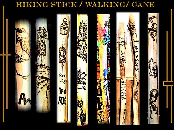 hiking stick,custom