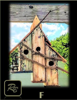 Bird Condo, bird houses, birdhouse, cool bird houses, Mother gifts,