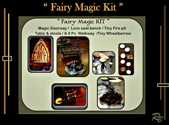 fairies, fairy garden kits, Deluxe, child gift, kids garden,fairy gardens