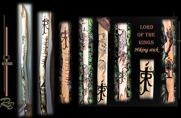 Lord of the Rings, Gandalf, lord, rings,hiking, stick,walking,wood anniversary