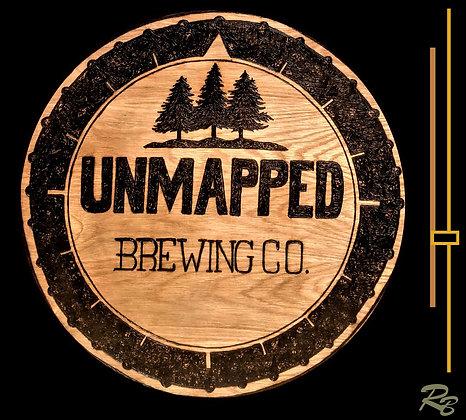 custom signs, wood sign, bar sign, brewary, brewing Company