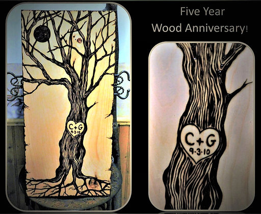 Five year Anniversary, wood gift, wood anniversary gift,wife, gift,husband