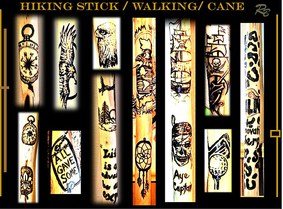 hiking stick, retirement, gift