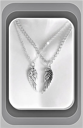 angel wings, couples gift, couples Jewelry,LGBT, boyfriend gift,girlfriend gift,