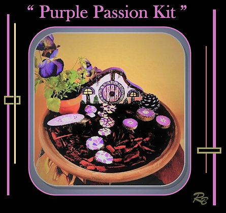 fairy garden kit, child gift, kids garden, fairy gardens, fairy