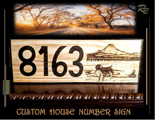 house number sign,Wood Anniversary gift,Husband,Wife,gift,Father,wood