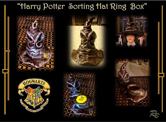 sorting hat ring box, harry potter sorting hat, sorting hat,ring  box,engagement