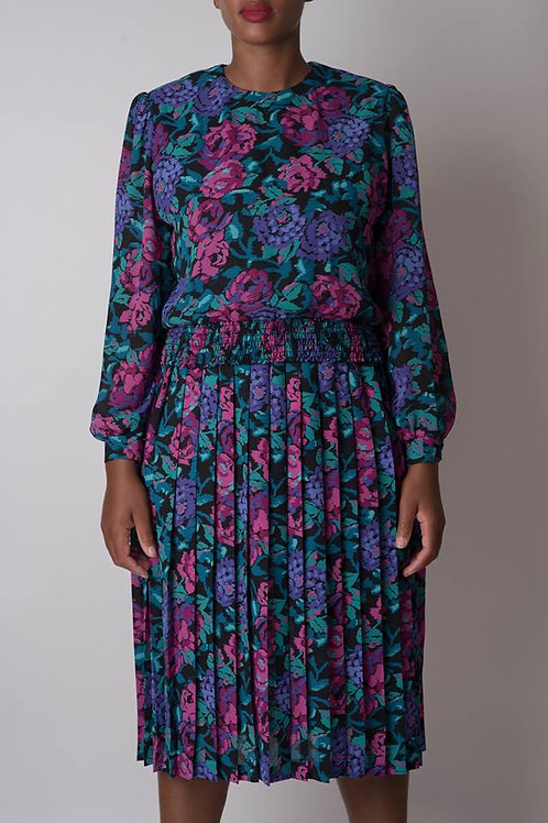 Long Sleeves Fashionable Floral