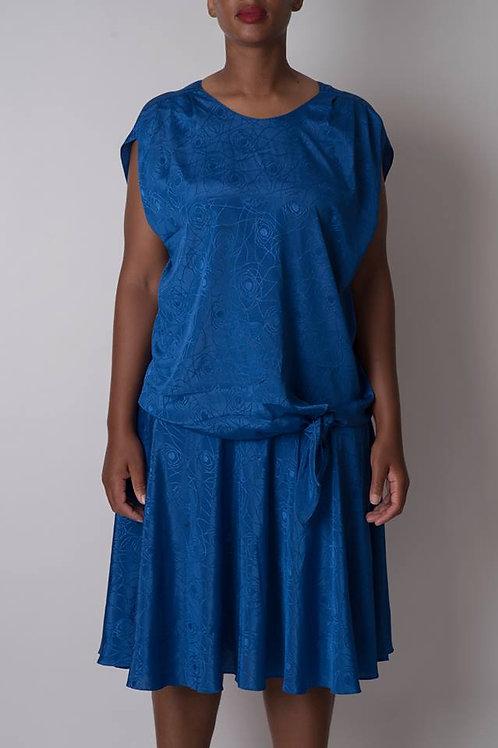 Improvised Vintage Dress