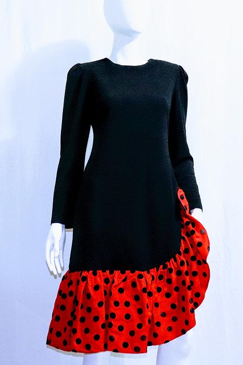 Red & Black Polka Dot