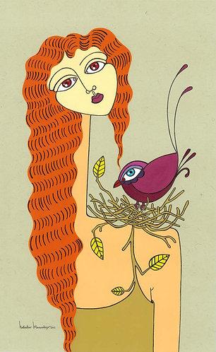"""My Golden Autumn"" PRINT"