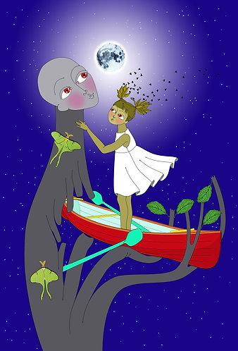 """Moonlit Journey"" PRINT"