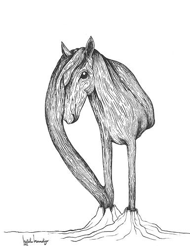 """Tree-Horse"" PRINT"