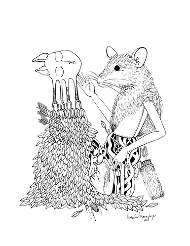 """""""The Mouse and the Heart"""" PRINT"""
