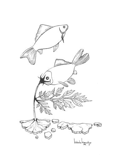 """""""Fish Bowl"""" PRINT"""