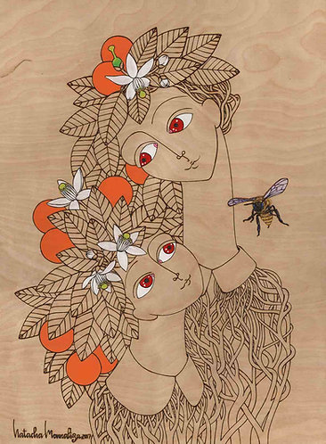 """My Orange Blossom"" PRINT"