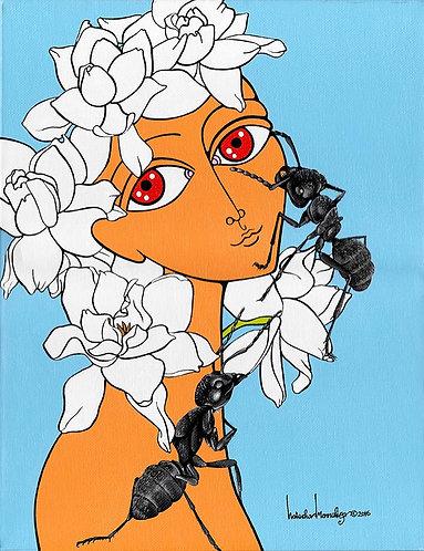 """Gardenia"" PRINT"