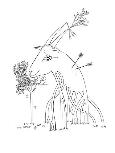"""The Goat"" PRINT"