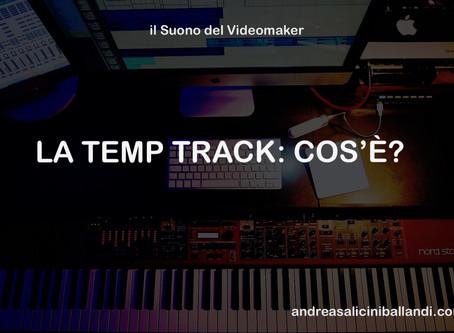 LA TEMP TRACK: COS'È? - il Suono del Videomaker