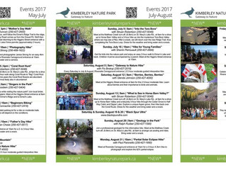 2017 KNPS Event Schedule