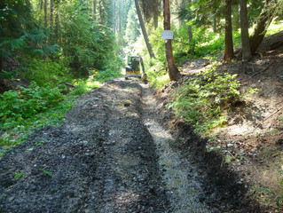 Drainage Improvements on Eimer's Road