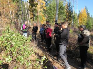 Environmental educator's tour