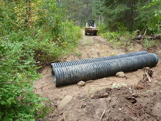 New Culverts Solve Flooding Problem