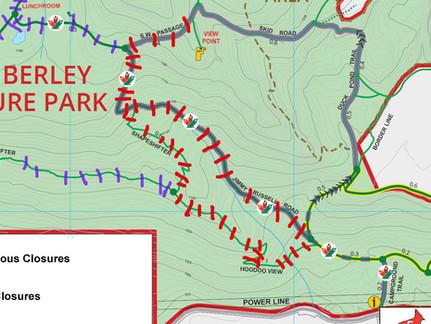 New Trail Closures