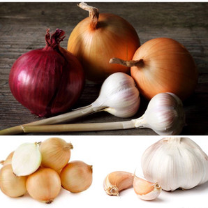 """Essential Pantries """"Onions and Garlic"""""""