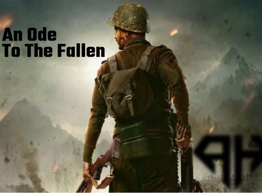 """An Ode To The Fallen - """"Cover With My Life"""""""