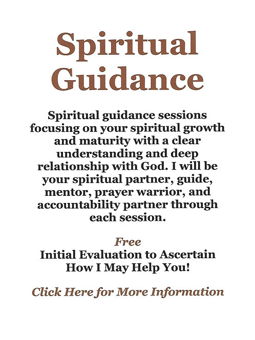 Spiritual Guidance Sessions