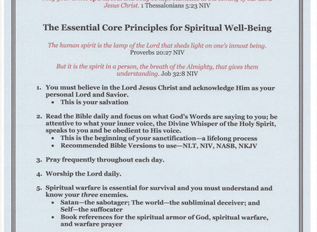 Outline for Life - Spiritual Well-Being